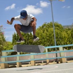 James Komba, Skater