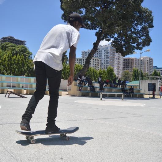 Abubakar Amour, Skater and Former Winner
